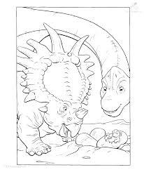 1001 Kleurplaten Dieren Dinosaurus Prehistorische Kleurplaat