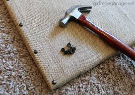 rock your knockoff why pay 65 for a burlap message board from ballard designs when