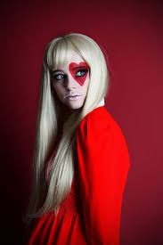queen of hearts s i love this make up for if you don t want to be scary and pretty is your motto