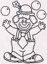 15 Beste Kleurplaat Clown Gezicht Double Frisson
