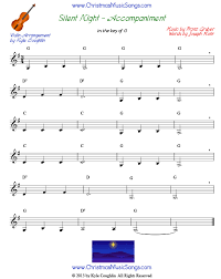 Free free christmas violin duet sheet music sheet music pieces to download from 8notes.com this website uses cookies to ensure you get the best experience on our website. Silent Night For Violin Free Sheet Music