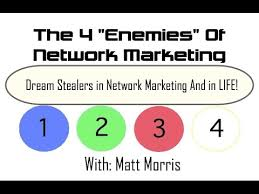 Dream Stealers Quotes Best of Dream Stealers In Network Marketing And In Life Enemy 24 Matt