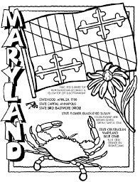 Small Picture Maryland Coloring Page crayolacom