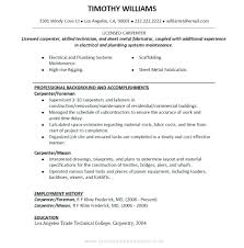 Work History Resume template Work History Resume Template Before Job Sample 25