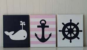 baby girl nautical photos of anchor wall decor