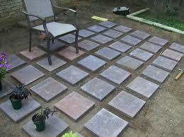 Build A Concrete Patio Diy Concrete Patio Pavers