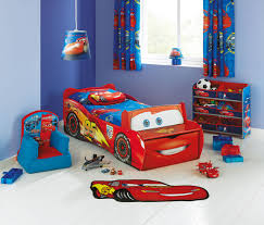 Lightning Mcqueen Bedroom This Lightning Mcqueen Bed From Argos With Front Seat And Storage