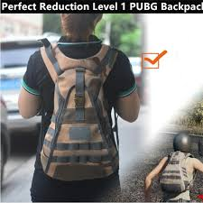 <b>Game PUBG Perfect Reduction</b> Level 1 PUBG Backpack Cosplay ...