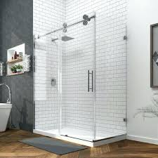 half wall shower enclosure medium size of glass with building stud sho