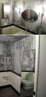mood swings alice in wonderland inspired bathroom