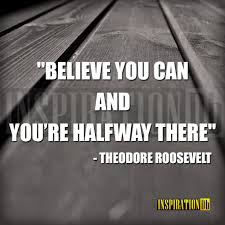 Theodore Roosevelt Quote Poster Tyres2c