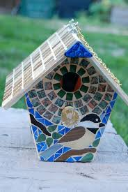 stained glass bird houses review
