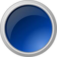 Glossy Blue Button Clip Art At Clker Com Vector Clip Art Online