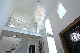 glass contemporary chandeliers