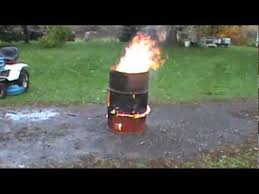 how to make a super effective burning barrel lots of swearing