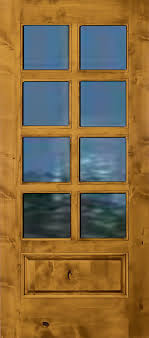 rustic interior french door 8lite wood doors3 wood