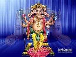 Shree Panchmukhi Ganesha Wallpaper