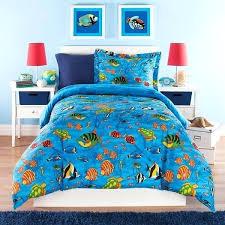 shark bedding full kids twin comforter set aquarium themed full sea life under water pertaining to fish idea 8