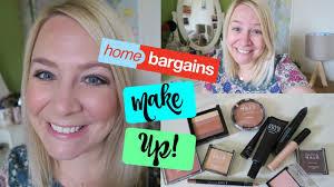 testing home bargains makeup