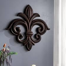 large fleur de lis wall decor you ll