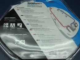 scosche amp wiring kit 1200 watt scosche image scosche 1200 watt amp wiring kit 8 gauge for 2 channel copper wire on scosche amp