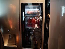 refrigerator lg. the signature fridge at new york debut. refrigerator lg