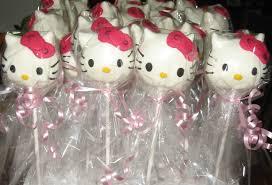 Let Them Eat Cake Hello Kitty Cake Pops