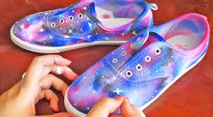 galaxy shoes so easy to make they re out of this world diy ways