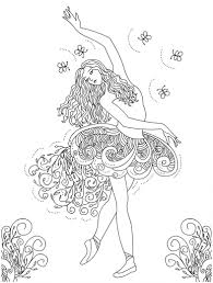 Free Printable Ballet Coloring Pages For Kids Within Dance ...
