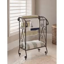 free standing towel rack. Kings Brand Coffee Brown Metal Free Standing Towel Rack Stand With Shelf ~New~
