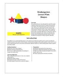 Kindergarten Art Lesson Plans Lesson Plan Template Kindergarten Math Example Bettylin Co