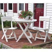 folding patio furniture set. quik-fold folding patio furniture set