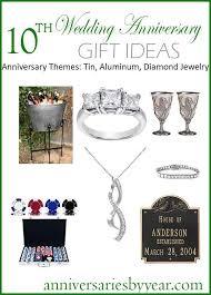 10 year anniversary twitter facebook google 10th anniversary gift ideas