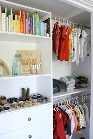 Closet Organization For a Little Boys Room