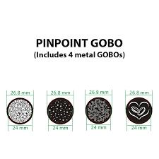 Gobo Holder Size Chart Adj Pinpoint Gobo