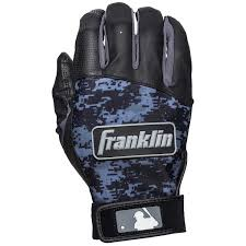 Batting Glove Size Chart Franklin Franklin Sports Youth Mlb Digitek Batting Gloves Black Black