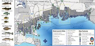 Florida Freshwater Fishing Regulations Chart St Marks National Wildlife Refuge Fish And Wildlife