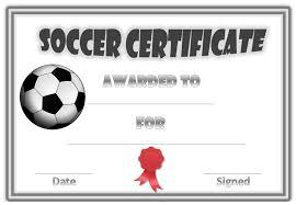 soccer awards templates soccer award certificate soccer award certificate pinterest