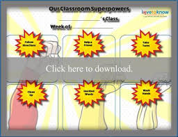 Preschool Behavior Charts Lovetoknow