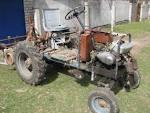 Трактор с двигателем иж