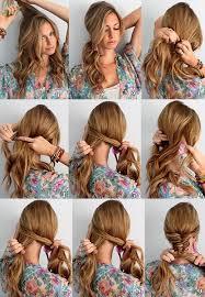 на каждый день на длинные волосы своими руками за минут простые  Прически на каждый день на длинные волосы своими руками за 5 минут простые быстрые и красивые