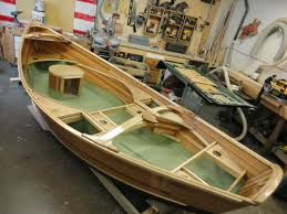 so my dad is building a drift boat holy