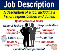 Job Qualification List What Is A Job Description Definition And Examples Market