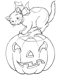 Small Picture Halloween Coloring Page Bat For Pumpkin Coloring Sheets
