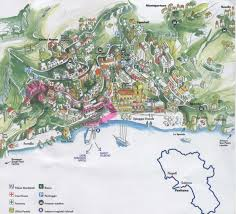 positano on the amalfi coast map  high quality maps of positano