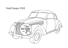 2079x1483 super car ford coupe 1932 coloring page cool car printable free