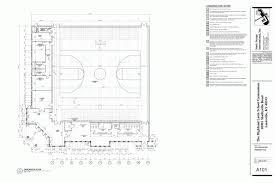 basketball gym floor plans gymnasium for spring meadows cus highlands latin