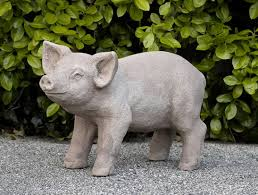 garden animal statues.  Statues Curly In Garden Animal Statues T