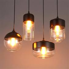 retro kitchen light fixtures vintage glass pendant lamp country lights modern industrial lighting