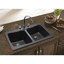 Black Kitchen Sinks And Faucets 771514551 Tanamen